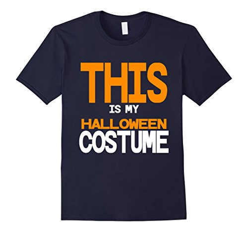 Homemade Halloween Ghost Costumes (Mens Funny Halloween Costume for Dad Men Mom Sarcastic Homemade Large Navy)