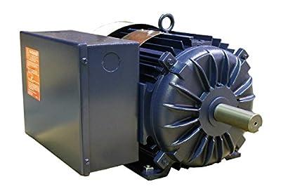 Century K312M2 10 hp 1800 rpm Single Phase Farm Duty Electric Motor with Rigid Mount
