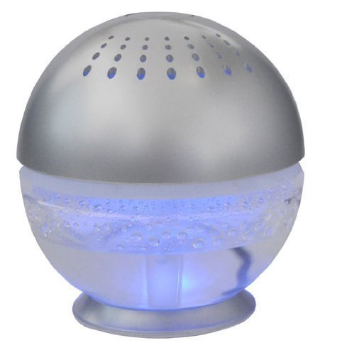 EcoGecko Little Squirt Essential Oil Diffuser, Silver ()