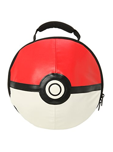 Nintendo Big Boys' Pokemon Mini Pokeball Lunch Box