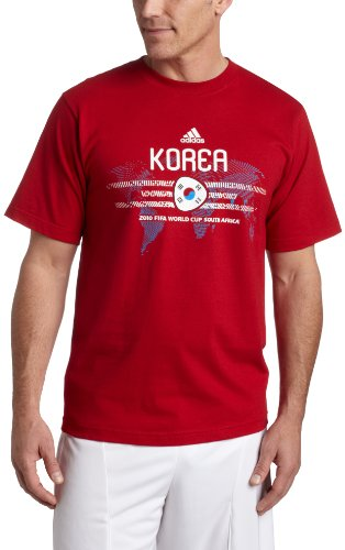 adidas Korea World Cup 2010 Soccer T-Shirt, ()