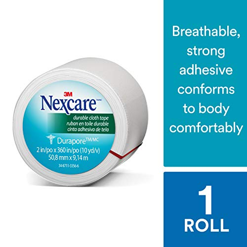 Nexcare Durable Cloth First Aid Tape, Made by 3M, 1-Count