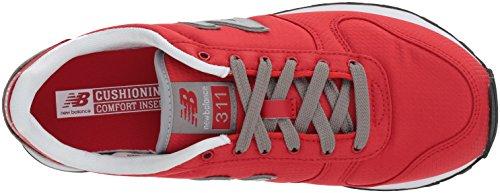 Men's New Red 311V1 Sneaker Balance Marblehead 45qvwAx
