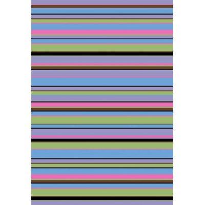 Alisa Stripes Kids Rug Rug Size: 2'7