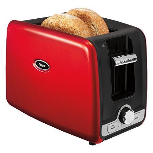 Torradeira Square Retro Toaster 127, Oster TSSTTRWA2R-017, Vermelho