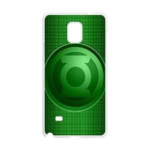 Samsung Galaxy Note 4 Cell Phone Case White Green Lantern