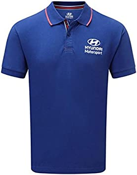 Hyundai WRT Polo Rally para Hombre Polo Top XS S M L XL XXL XXXL ...