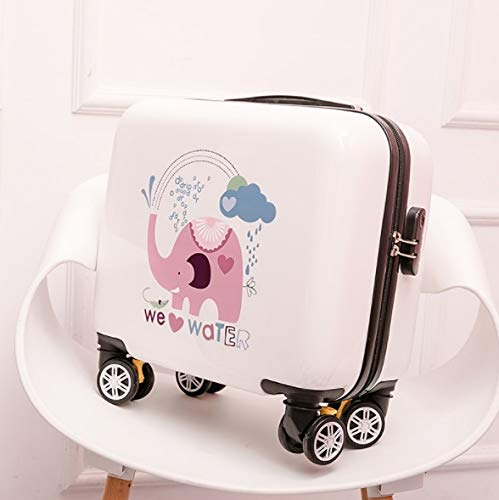 Size : S Lcslj Universal Wheel Trolley case Luggage Small Fresh Suitcase