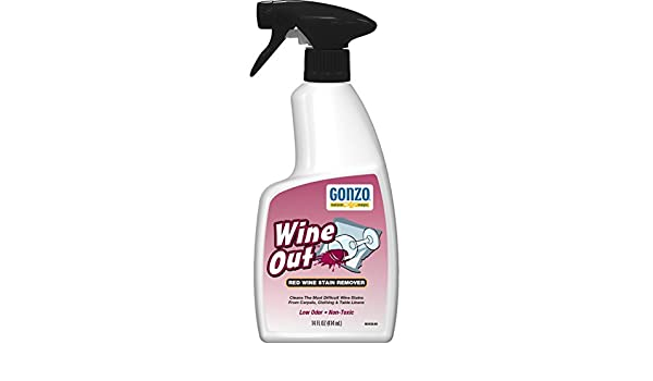 Gonzo vino Out quitamanchas, 14 oz, Transparente, 1: Amazon.es: Salud y cuidado personal