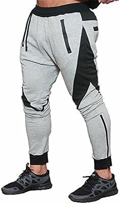 FLYFIREFLY Pantalones De Jogging Para hombres - Chándal De Fitness ...
