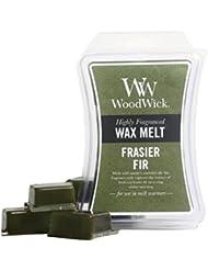 WoodWick Frasier Fir Hourglass Wax Melt, 3 Oz