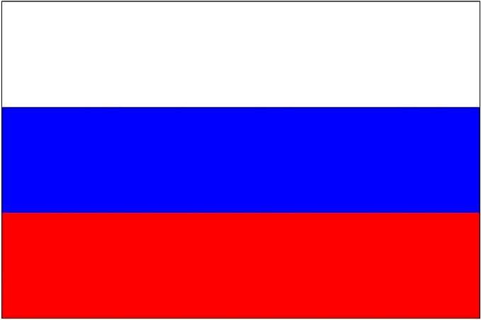 DDG EDMMS 1 Piezas Bandera a Mano Rusia: Amazon.es: Deportes y aire libre