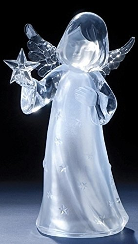 Icy Crystal Led Lighted Angel in US - 2