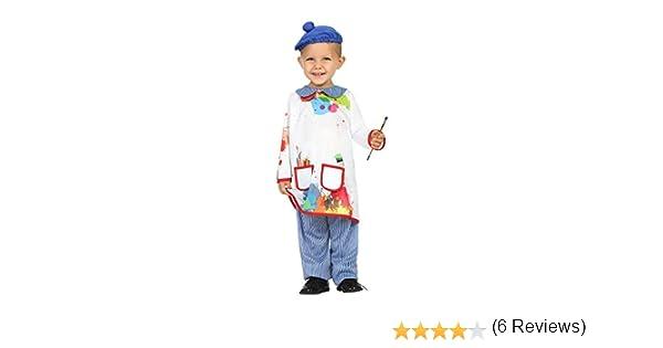 Atosa-27843 Disfraz Pintor, 12 a 24 meses (27843): Amazon.es ...