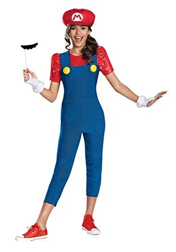 Nintendo Super Mario Brothers Mario Tween Costume,