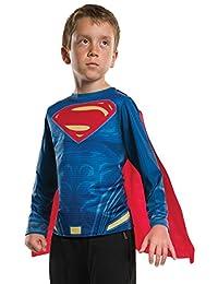 Rubies Costume Batman V Superman-Dawn of Justice Superman Child Top, Large
