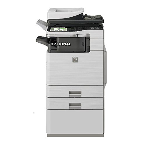 Refurbished Sharp MX-B402SC Letter-size Monochrome Digital Multifunction Printer – Copy, Print, Scan, Document Filing, 2 Trays, Cabinet, Base Plate, DSPF, 40ppm