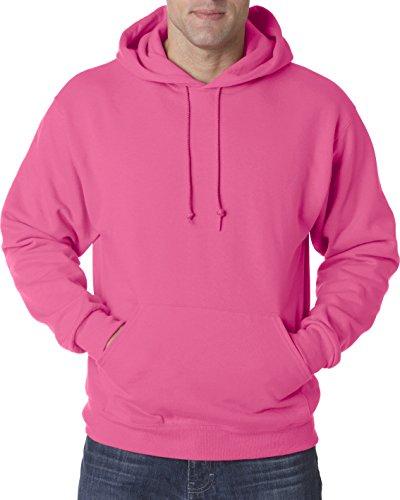 Jerzees para hombre 8oz. NuBlend 50/50forro Polar sudadera con capucha (996) rosa neón