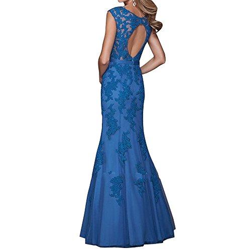 Partykleider Tanzenkleider Abendkleider Brautmutterkleider Dunkel Promkleider Langes Regency La Meerjungfrau Festlichkleider Brau Spitze mia qHxwZ08