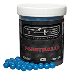 Precision Paintballs from T4E made specifically for the T4E . 43 cal line of training guns and pistols.