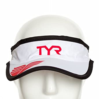 8e1b0369b4b0a0 Tyr Running Visor Lrunviscap 100 Herren Triathlon Hut: Amazon.de ...