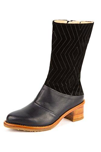 Neosens Damen Stiefel Stiefeletten Schwarz Gr. 37