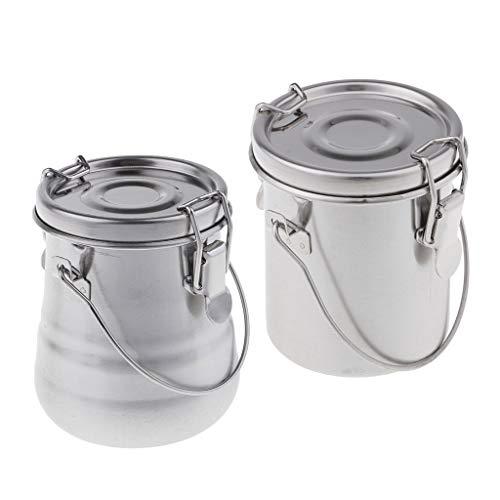 D DOLITY 筆洗器 油つぼ 油絵 油彩 描画用品 ブラシ クリーナー 使いやすい 漏れ防止 蓋付き 2個
