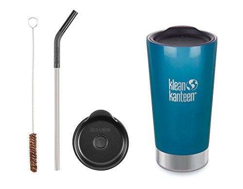 16 oz tumbler with lid and straw - 8