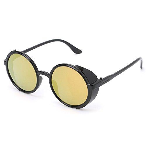 UV400 Gafas 3 6 Kimruida Sol Vintage Conducción para Diseño de RwffxqdpZ0