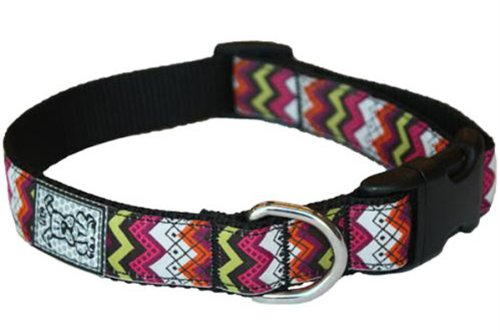 RC Pet Products 1-Inch Adjustable Dog Clip Collar, Medium, Tribeca