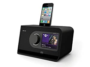 revo axis xs touchscreen internet dab dab fm radio with alarm clock iphone ipod docking. Black Bedroom Furniture Sets. Home Design Ideas
