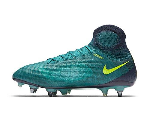 new concept 6907b bf509 ... Nike Magista Obra Ii Sg-pro Menns Fotballsko 844596 Fotball Cleats Rio  Blågrønn Volt Obsidian ...