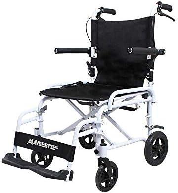 アルミ合金ウォーキングエイド車椅子折りたたみハンドプッシュライトポータブルシンプル折りたたみ、高齢者のためのウォーキングエイド