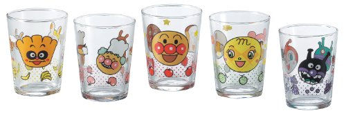 (Anpanman glass mini glass 5 pcs 12-450-6)