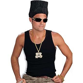 Amazon Com Forum Novelties Men S Hip Hop High Top Fade