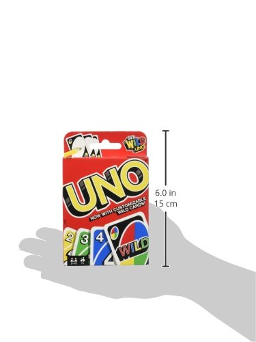 41sCTodYFrL - Mattel Games UNO Card Game