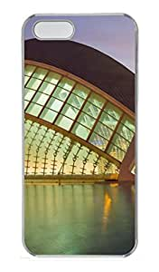 Architecture 136 PC Case Cover for iPhone 5 and iPhone 5S Transparent