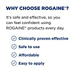 Men's Rogaine 5% Minoxidil Foam for Hair Loss and