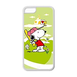 diy phone case5C Case, ipod touch 5 Case - Fashion Style New Snoopy Painted Pattern TPU Soft Cover Case for ipod touch 5 (Black/white)diy phone case