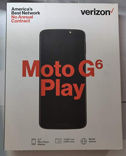 For Verizon Prepaid in USA ONLY_ MOTO with 5.7 IPS touch screen fingerprint 16GB Memory Android 8.0 Oreo OS Prepaid - Prepaid Phones Usa