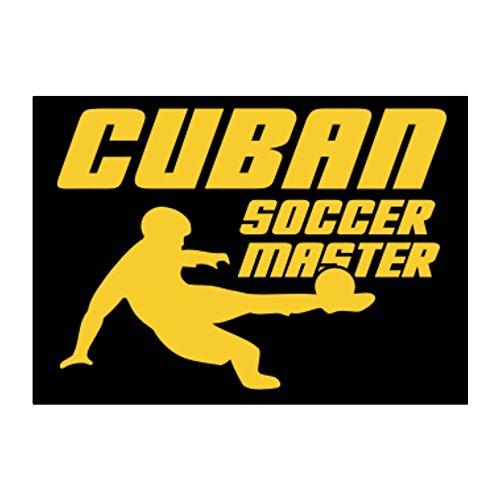 Cuban Master (Teeburon Cuban Soccer Master Pack of 4 Stickers)