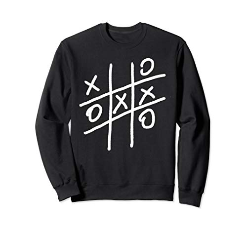 Noughts and Crosses Shirt Tic Tac Toe Board Game Shirt Sweatshirt]()