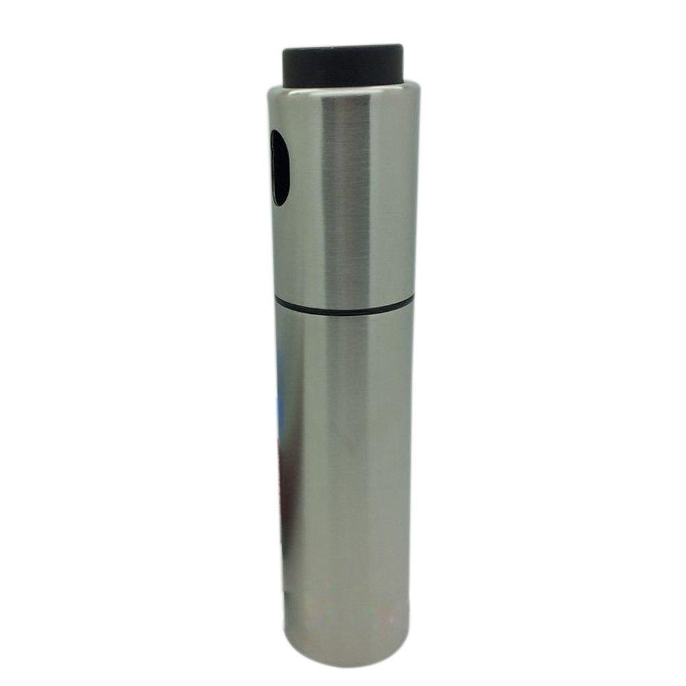 Dimart Olive Pump Spray Vinegar Bottle Oil Sprayer Pot Cooking Tool(Siliver)
