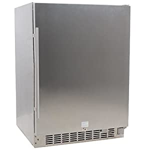 1. EdgeStar CBR1501SSOD 24-Inch Wide, 142 Can, Built-In Outdoor Beverage Cooler