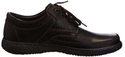 Padders Marc Zapatos de Cordones, de Cuero, para Hombre Negro