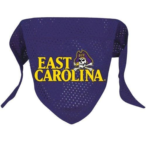 East Carolina University Pirates Pet Dog Football Jersey Bandana M/L
