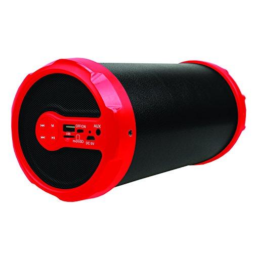 SuperSonic IQsound Wireless Bluetooth Portable Outdoor Speaker, Black