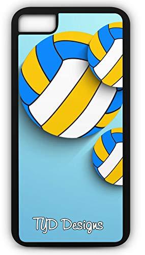 iPhone 6s Case Volleyball Spike Serve Net 21 Women's Men's Customizable TYD Designs in Black Rubber