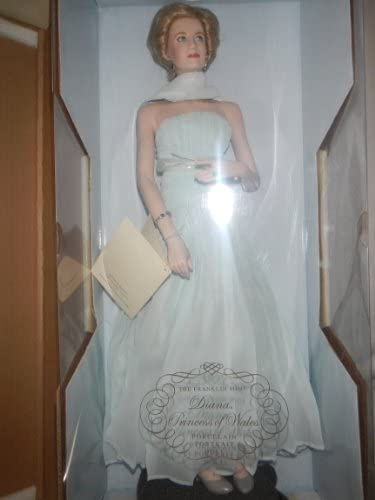 Amazon Com The Franklin Mint Diana Princess Of Wales Porcelain Portrait Doll By The Franklin Mint Toys Games