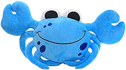 Amazon Com Cute Crab Plushie Toy Stuffed Crab Toy 20 Blue Toys Games Great news!!!you're in the right place for cute crab. cute crab plushie toy stuffed crab toy